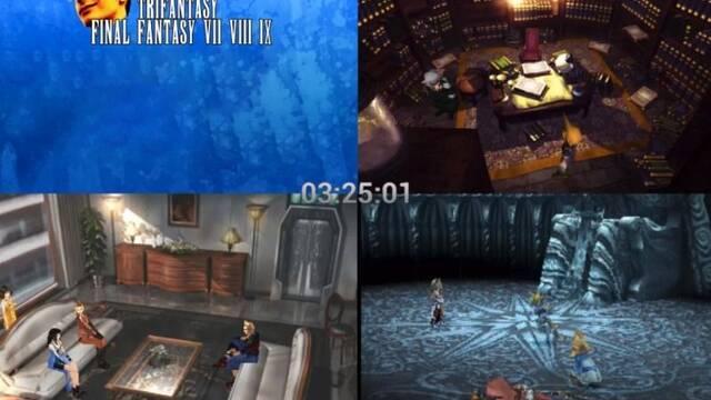 Un fan está realizando un 'speedrun' de tres Final Fantasy a la vez