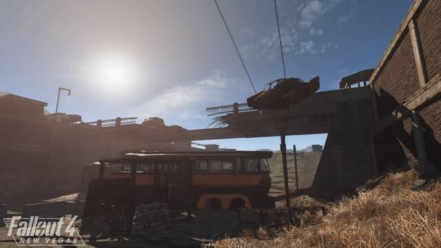 El mod Fallout 4: New Vegas muestra su tiempo dinámico en imágenes