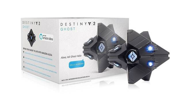 Ghost de Destiny 2 se integra en el sistema Alexa de Amazon
