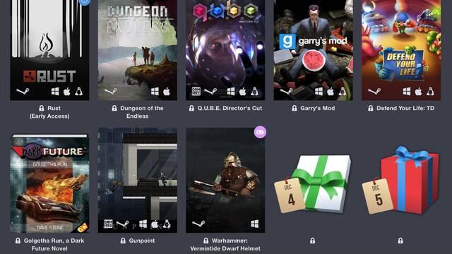 Humble Bundle ofrecerá un nuevo juego cada día hasta el 25 de diciembre