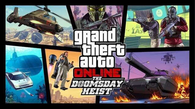 Grand Theft Auto Online presenta en tráiler 'Golpe del Juicio Final'