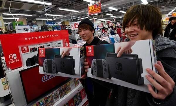Switch supera los 2,5 millones de consolas en Japón
