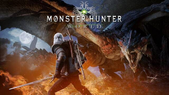 La colaboración de Monster Hunter World y The Witcher llega el 8 de febrero