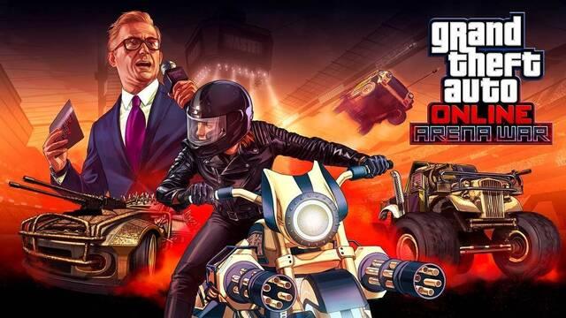 GTA Online estrena hoy su esperado modo 'Arena War'