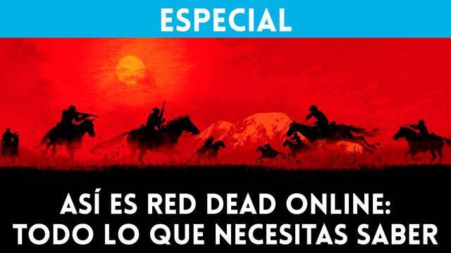 Así es Red Dead Online: Todo lo que necesitas saber