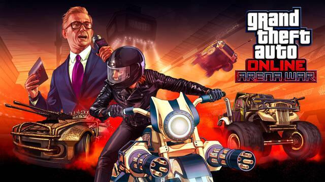 GTA Online: Nuevo vídeo, imágenes y detalles de Arena War