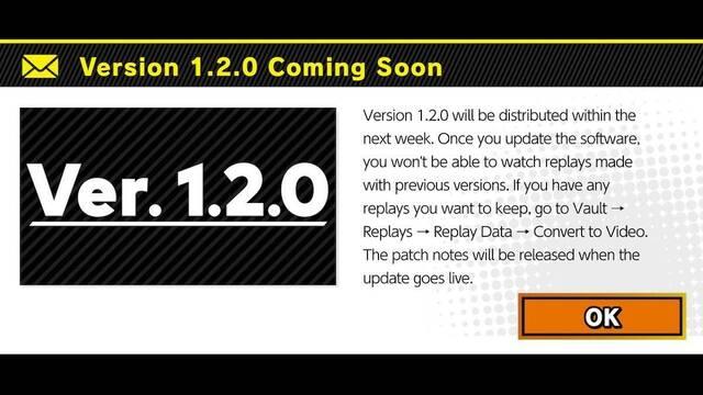 Super Smash Bros. Ultimate se prepara para la actualización 1.2.0