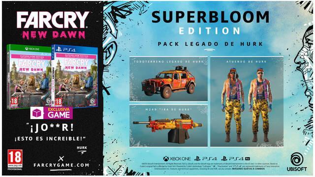GAME anuncia incentivo de reserva y edición exclusiva para Far Cry New Dawn