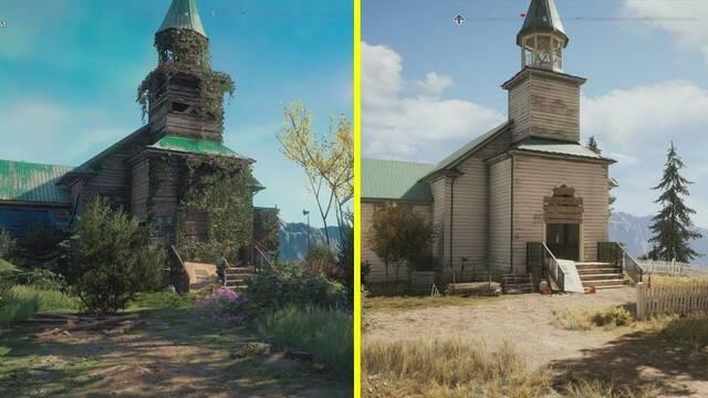 Comparan los mapas de Far Cry 5 y Far Cry New Dawn en vídeo