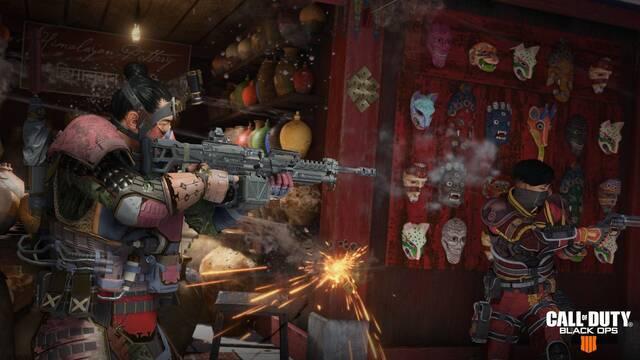 La última actualización de Black Ops 4 libera más Especialistas en Blackout