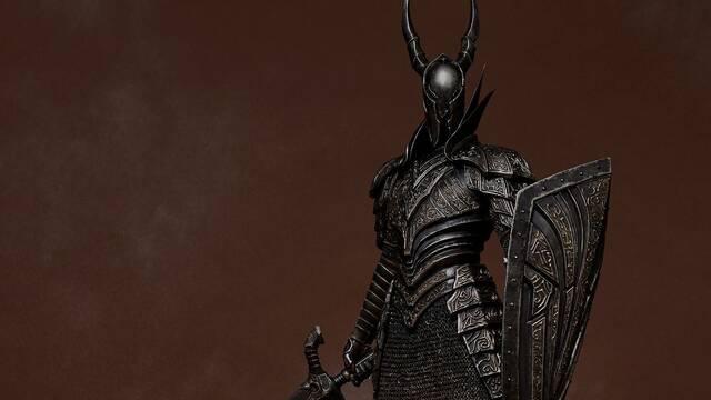 Así es la impresionante figura del Caballero Negro de Dark Souls