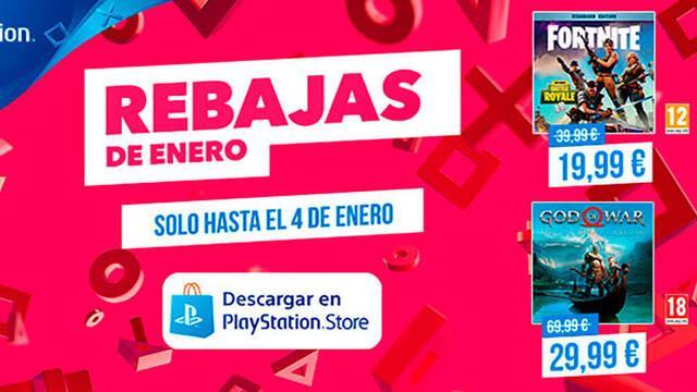 PlayStation Store: Más de 1000 juegos en las Rebajas de enero