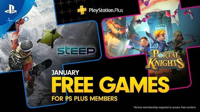 Ya disponibles los juegos de PS Plus de enero 2019