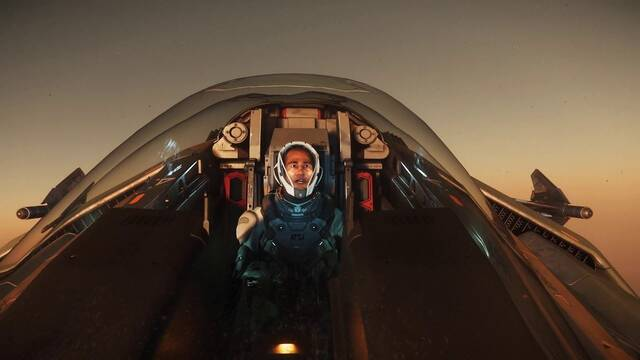 Recrean en Star Citizen varias escenas de la película 'Top Gun'