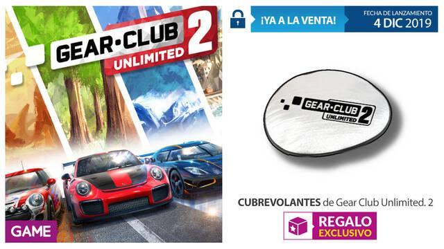 GAME detalla su incentivo por reserva para Gear.Club Unlimited 2