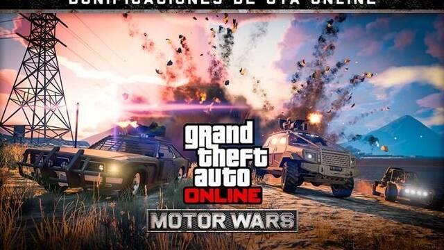 GTA Online: Bonificaciones y recompensas Dobles en Motor Wars