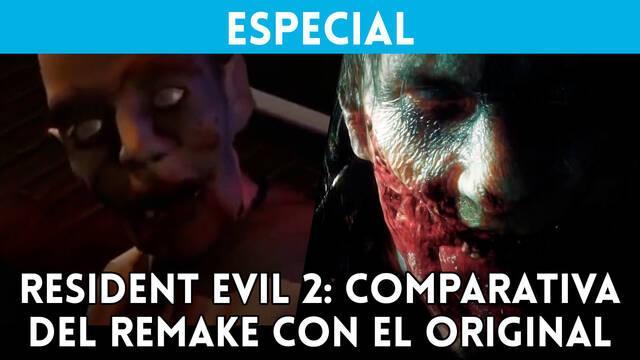 Resident Evil 2 Remake: Comparamos sus gráficos con el original de 1998