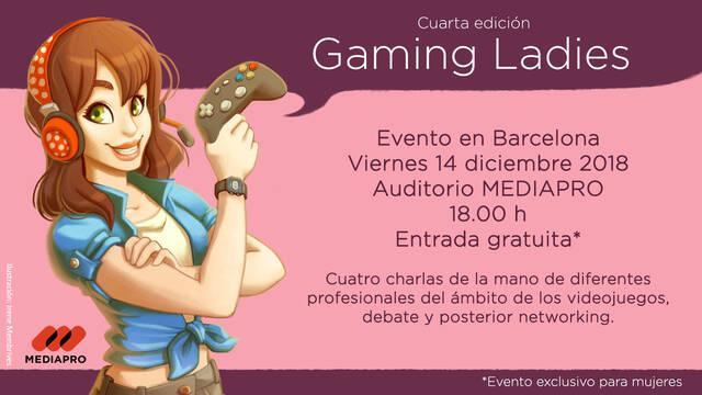 Anunciada la cuarta edición de Gaming Ladies
