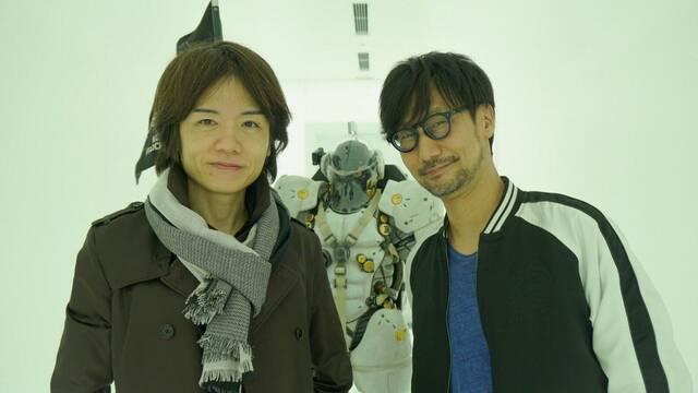 Masahiro Sakurai, el creador de Super Smash Bros, visita Kojima Productions