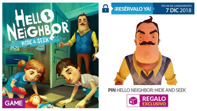 GAME detalla su incentivo por reserva para Hello Neighbor: Hide & Seek