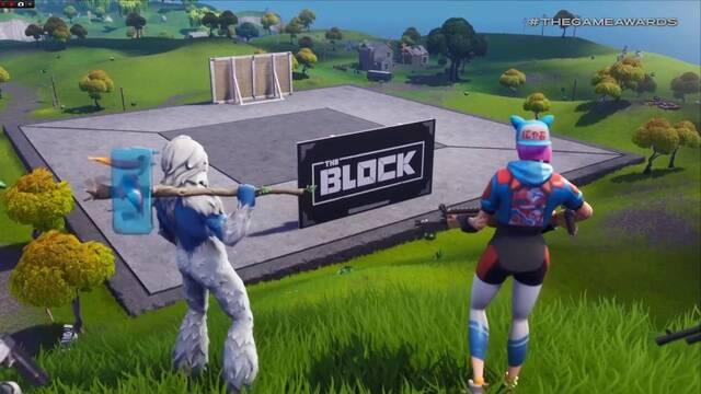 Fortnite Battle Royale destacará las creaciones de la comunidad con The Block