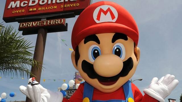 McDonald's quiso que la 'M' de Mario se pareciera más a la suya