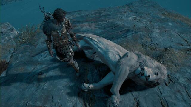 El león de Macedonia en Assassin's Creed Odyssey
