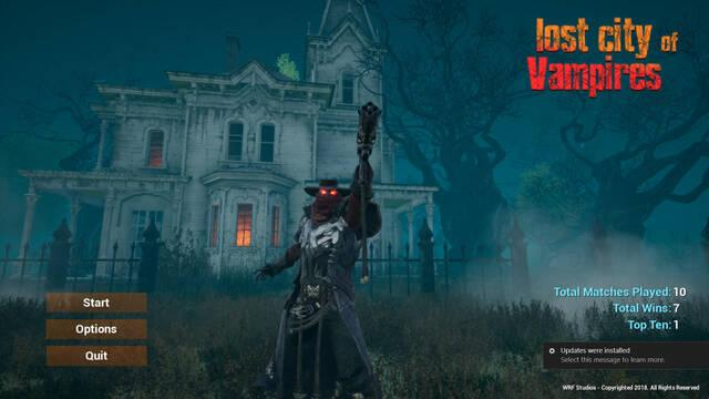 Lost City of Vampires, un Battle Royale de vampiros llega a Steam