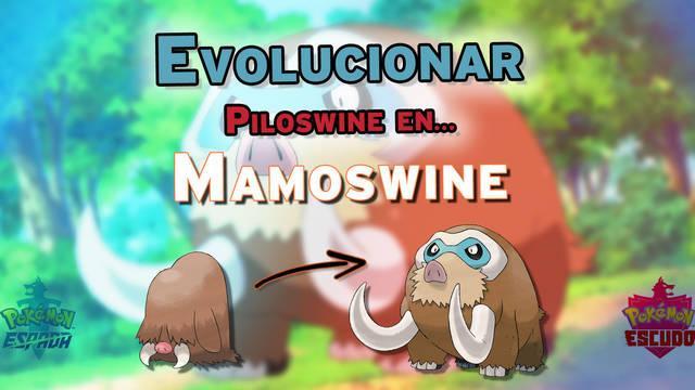 ¿Cómo evolucionar a Piloswine en Mamoswine en Pokémon Espada y Escudo?