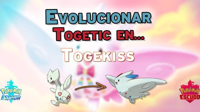 ¿Cómo evolucionar a Togepi en Togetic y Togekiss en Pokémon Espada y Escudo?