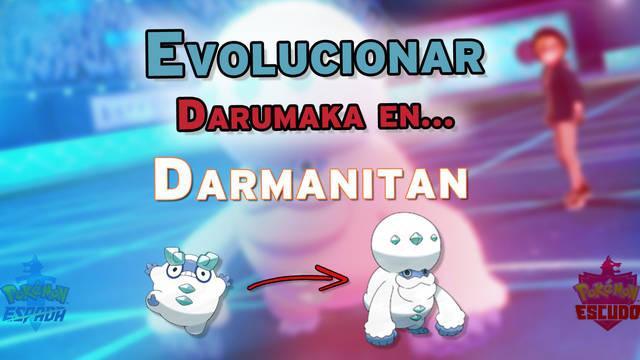 ¿Cómo evolucionar a Darumaka en Darmanitan en Pokémon Espada y Escudo?