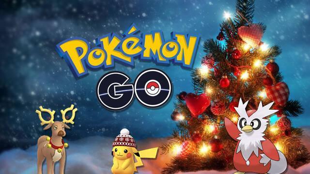 Pokémon Go, evenos de navidad