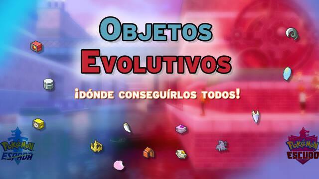 TODOS los objetos evolutivos en Pokémon Espada y Escudo - Localización