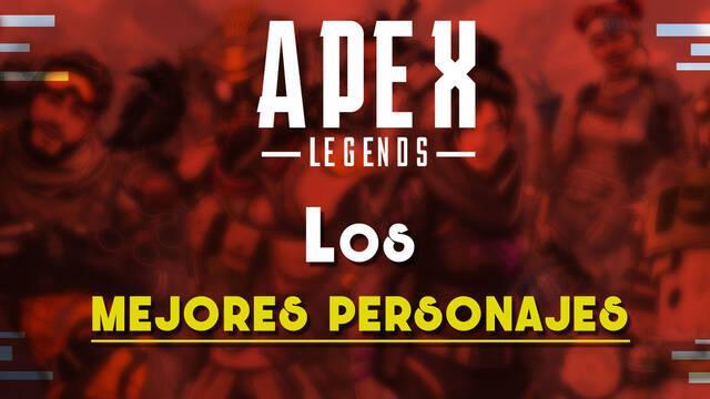 Los mejores personajes de cada tipo en Apex Legends