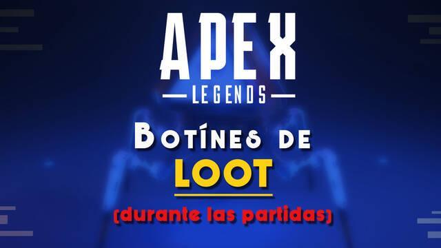 Consejos para encontrar y saquear botín de loot especial en Apex Legends