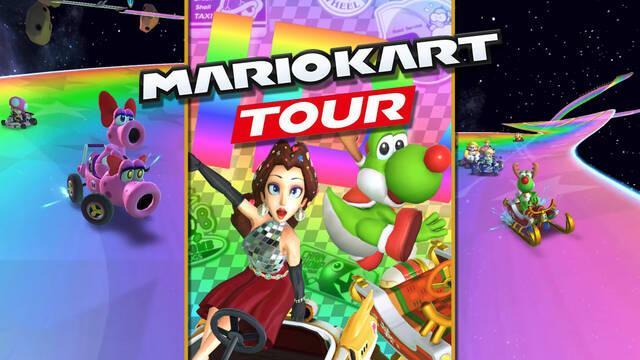 Mario Kart Tour temporada de fiestas