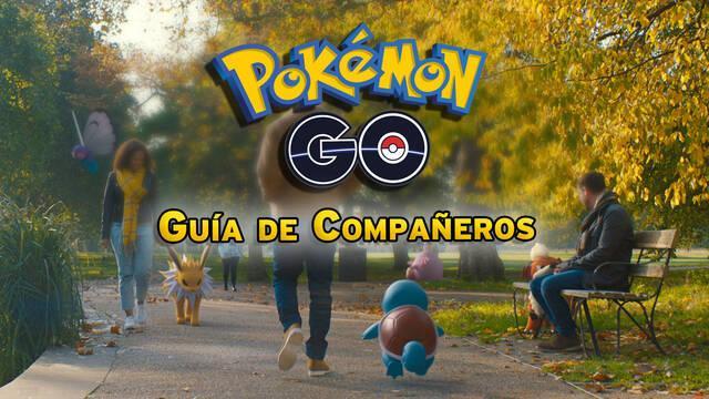Aventuras con tu Compañero en Pokémon Go - Cómo se activa, consejos y niveles