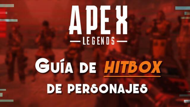 ¿Cuál es la Hitbox de todos los personaje de Apex Legends?