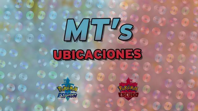 TODAS las MTs en Pokémon Espada y Escudo - Localización