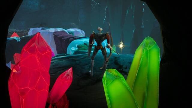 Las Cuevas de cristal al 100% en MediEvil Remake
