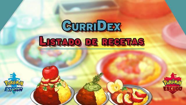 CurriDex - Listado completo de recetas y efectos en Pokémon Espada y Escudo