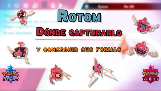 Dónde capturar a Rotom y cómo desbloquear sus formas en Espada y Escudo