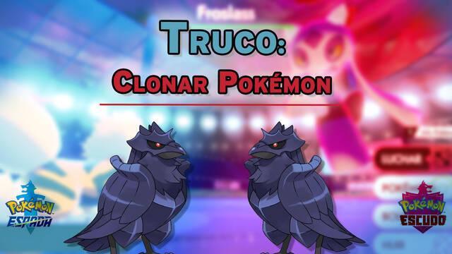 Truco para clonar Pokémon de Incursiones Dinamax en Espada y Escudo