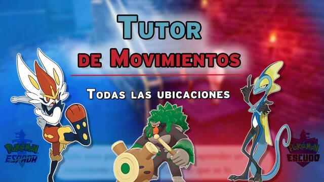 Tutores de Movimientos en Pokémon Espada y Escudo - Localización