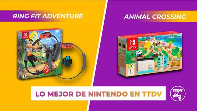 TuTiendadevideojuegos Switch ring fit adventure animal crossing