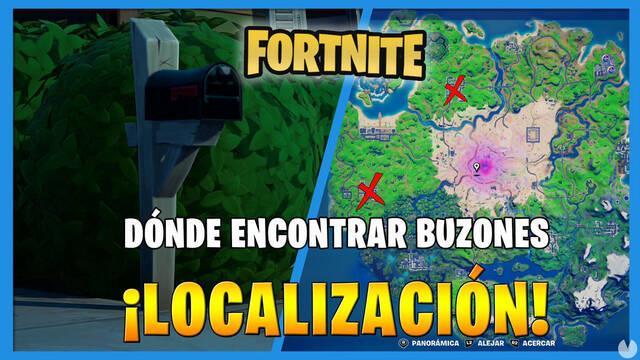 Fortnite: Destruye buzones - Localización