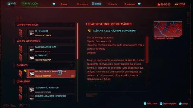 Vecinos problemáticos en Cyberpunk 2077 al 100%