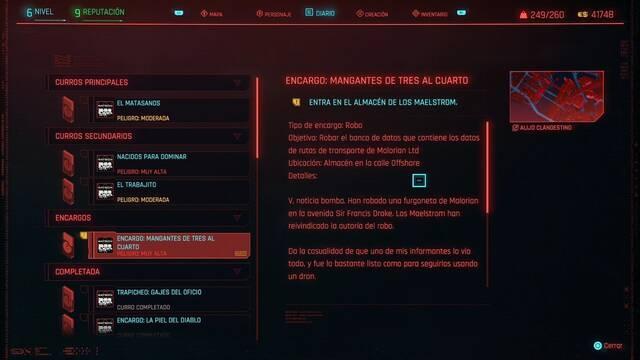 Mangantes de tres al cuarto en Cyberpunk 2077 al 100%
