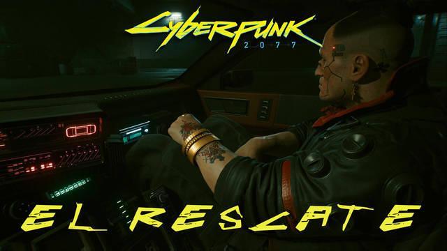 El rescate en Cyberpunk 2077 al 100%