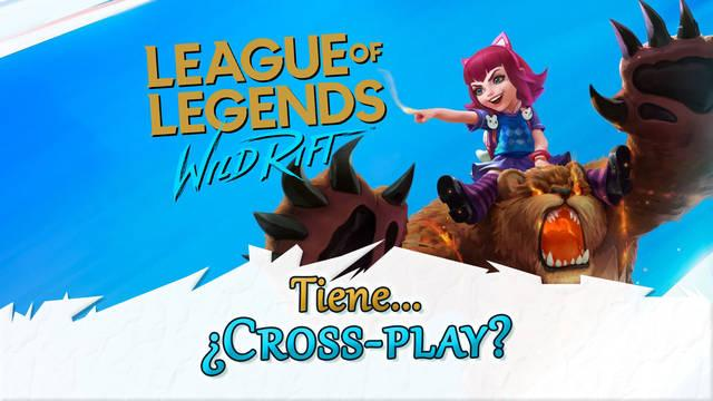 ¿League of Legends: Wild Rift tiene cross-play? (juego cruzado)